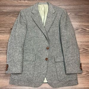 Ralph Lauren Light Grey Camel Hair Blazer 40R